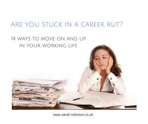 Stuck in a rut (2)